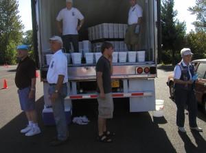 unloading crew
